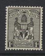 Nyasaland (British Central Africa) BCA SG 32 Mint Light Hinge