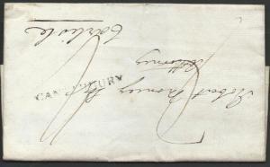 GB 1810 folded entire CANTERBURY st/line, to Carlisle......................49911