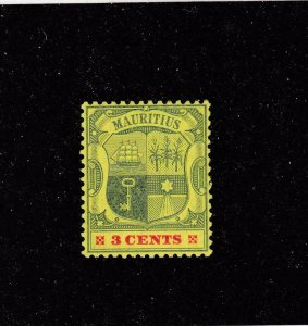 MAURITIUS  # 130 VF-MNH 3cts CAT VALUE $22.50