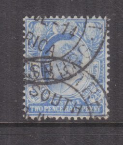 CAPE OF GOOD HOPE, 1902 KEVII 2 1/2d. Ultramarine, used.