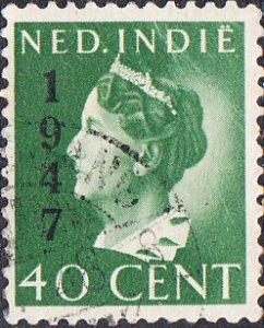 Netherlands Indies #276  Used