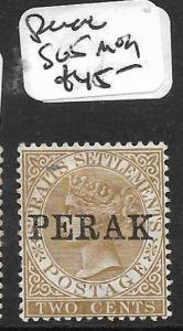 MALAYA PERAK (P1412B) QV 2C SG 5  MOG