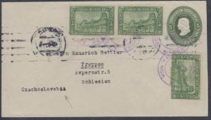 O) 1923 COSTA RICA, GENERAL POST OFFICE-UPU, COLON-5 CENTAVO