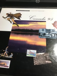 Canada 1995 Annual Collection (USC #38) VF-NH Face Alone $39.95 Est. $60.+
