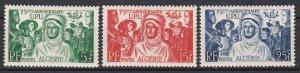 Algeria Sc #226-228 Mint