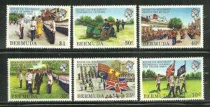 Bermuda MNH 423-8 Bermuda Regiment SCV $10.15