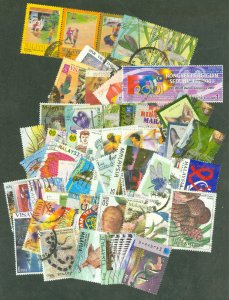 selection Malaysia 1996-2002 61 different used
