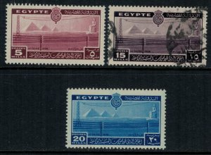 Egypt #228-30*/u  CV $4.25