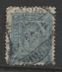 Denmark - Scott ? - Definitive Issue -1875? - Used - Single 4o Stamp