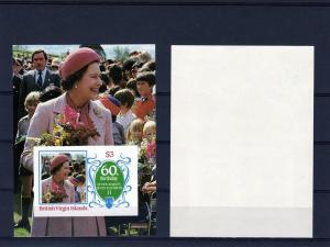 British Virgin Islands Q.Elizabeth 60th Birthday Imp.SS 536