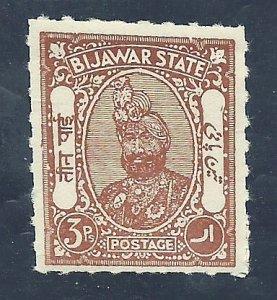 India-Bijawar 1   Mint  VF 1935-36 PD