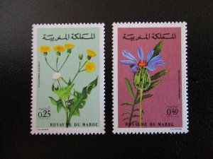 Morocco #266-67 Mint Never Hinged (L7H4) WDWPhilatelic