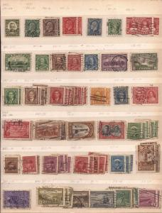 37 Canadian Stamps from 1931 to 1946