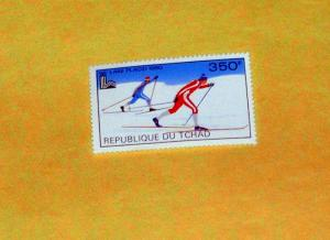 Chad - 385, MNH - Cross Country Skiing. Scott CV - $3.00