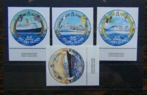 Pitcairn Island 2001 Cruise Ships set LMM