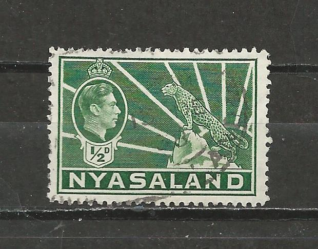 Nyasaland Protectorate Scott catalogue # 54