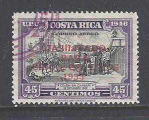 Costa Rica Sc # C222 used (RS)