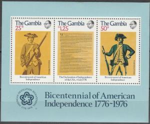 Gambia #337a MNH VF (V3592L)