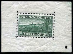 HERRICKSTAMP LUXEMBOURG Sc.# 151 Rare Mint NH S/S
