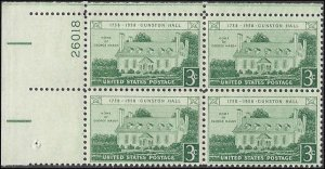 1106 Mint,OG,NH... Plate Block of 4... SCV $1.00