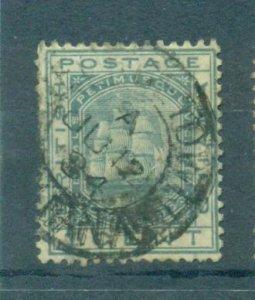 British Guiana sc# 107 used cat value $.50