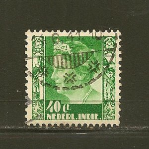 Netherlands Indies 181 Used
