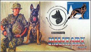 19-193, 2019, Military Working Dogs, Pictorial Postmark, Event Cover, Port Huene