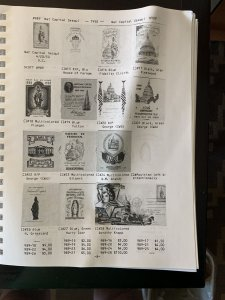 Mellone Specialized Cachet Catalog of First Day Covers of the 1950s Retail $60