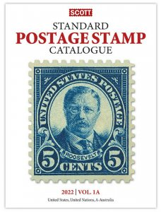 Scott Stamp Catalog 2022 Volume 1A & 1B - COUNTRIES US, UN & A-B  FREE SHIPPING!
