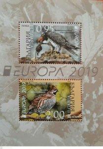 2019/08- BULGARIA -  BIRDS EUROPA 2020           2V    MNH **