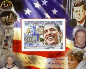 Guinea 2008 SPACE Apollo US Presidents Deluxe s/s mnh.vf