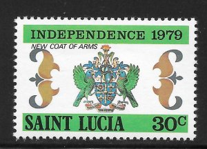 St Lucia Mint Never Hinged [4184]