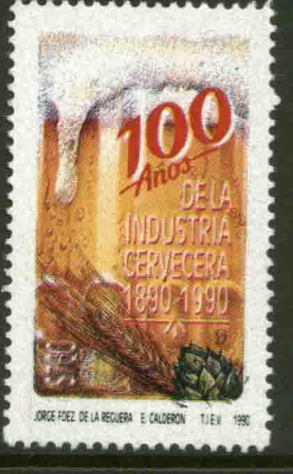 MEXICO 1680, CENTENNIAL OF BREWING INDUSTRY. Mint, NH. VF.