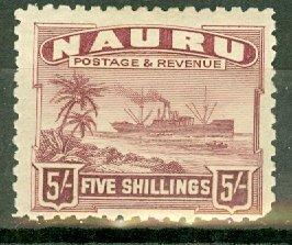 B: Nauru 29 mint CV $60