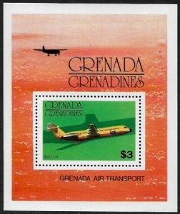 Grenada, Grenadines #188 MNH S/Sheet - Airplanes