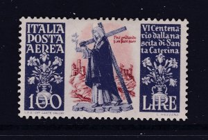 Italy a 100L Air stamp MH from 1948