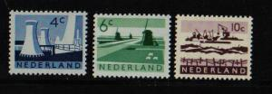 Netherlands #399-403  1962 / 1963 MNH Scenery complete