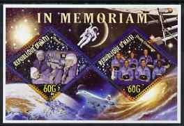Haiti 2006 In Memoriam (Soyuz & Challenger) perf shee...