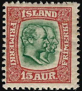 Iceland Attractive Sc#77 Mint F-VF...Worth a  Look!!