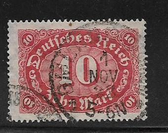 Germany Sc. # 195 Used Inflation wmk 126 L8