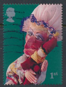 GB SG 2231 SC# 1992 Punch and Judy Die Cut Perf 14 x 15½ Used  see scans