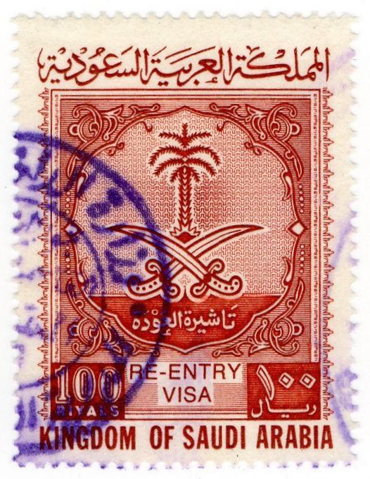 (I.B) Saudi Arabia Revenue : Passport Fee 100R (Re-Entry Visa)