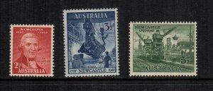 Australia  207 - 209    MNH cat $ 1.65 222