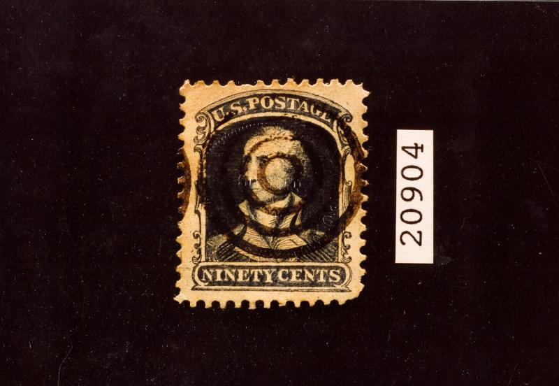 US Stamps # 39 VF Used Reference Stamp with PSE Certificate