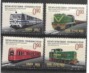 2011    BOSNIA  -  SG.  S 546 / S 549  -  RAIL LOCOMOTIVES   -   UMM