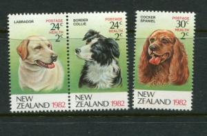 New Zealand #B112-4 MNH