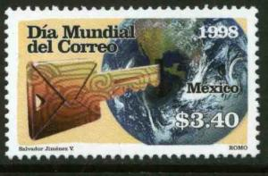 MEXICO 2097, World Post Day. MINT, NH. VF. (69)