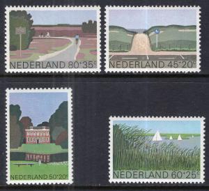 Netherlands B560-B563 MNH VF
