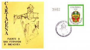 Colombia, Worldwide First Day Cover