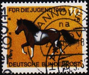 Germany. 1969 10pf+5pf  S.G.1478 Fine Used